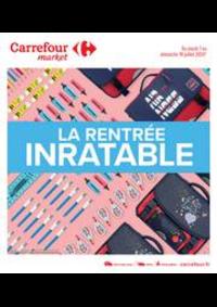 Prospectus Carrefour Market LOURDES : La rentrée inratable