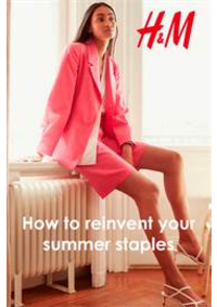 Prospectus H&M Aulnay Sous Bois : How to reinvent your summer staples