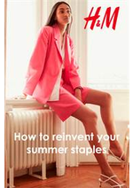 Prospectus H&M : How to reinvent your summer staples