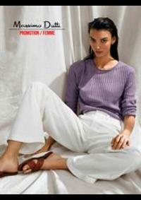 Catalogues et collections Massimo Dutti Women Men Bruxelles - Rue neuve  : Promotion  Femme
