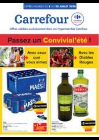 Prospectus Carrefour BIERGES : folder Carrefour