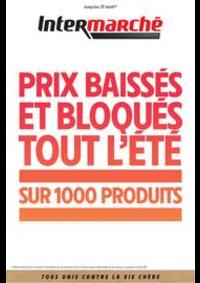 Prospectus Intermarché Super Rugles : PRIX BAISSÉS ET BLOQUÉS TOUT L'ÉTÉ