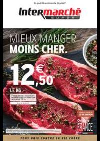 Prospectus Intermarché Super Bondy : MIEUX MANGER MOINS CHER.