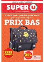 Promos et remises  : Catalogue Super U