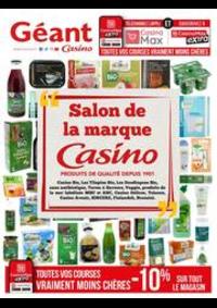 Prospectus Géant Casino TOULOUSE : Salon de la marque Casino