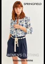 Catalogues et collections Springfield : Nouveautes femme