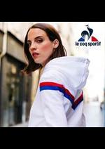 Prospectus Le Coq Sportif : Nouvelle Collection