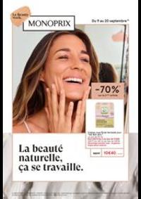 Prospectus Monoprix : La Beauty week