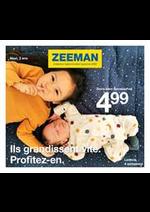 Prospectus Zeeman : Collection bébé et enfant automne 2020