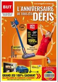Prospectus BUT : L'ANNIVERSAIRE DE TOUS LES DÉFIS