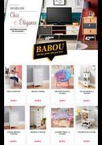 Prospectus Babou : Mobilier Chic et Élégance