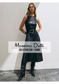 Catalogues et collections Massimo Dutti Women Men Oostende : Collection Cuir  Femme