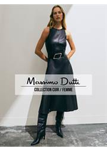 Catalogues et collections Massimo Dutti : Collection Cuir  Femme