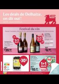 Promos et remises Supermarché Delhaize Jambes : Nouveau: Promotion de la semaine
