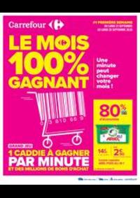 Jeux concours Carrefour Villefranche De Rouergue : Le premier mois Anniversaire