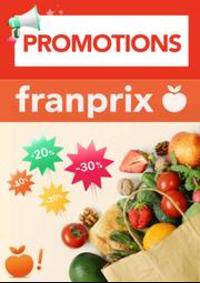 Prospectus Franprix PARIS 108 av. Général Michel Bizot : Promotions Franprix