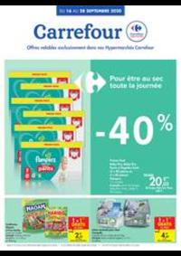 Prospectus Carrefour BRUGGE : folder Carrefour