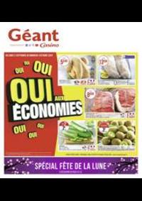 Prospectus Géant Casino PONTARLIER : Oui aux économies