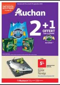 Prospectus Auchan OSNY : Les indispensables de l'automne