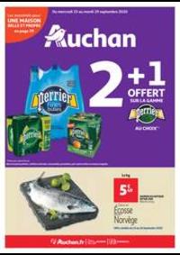 Prospectus Auchan Epinay sur Seine : Les indispensables de l'automne