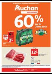 Prospectus Auchan Val d'Europe Marne-la-Vallée : Les indispensables de l'automne
