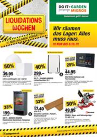 Promos et remises Do it + Garden Bern - Marktgasse Fachmarkt : Liquidations Wochen