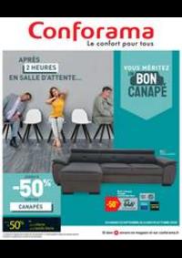 Promos et remises Conforama GARGES : Vouz méritez un bon canapé