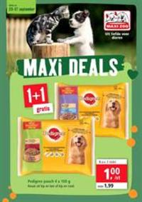 Prospectus Maxi Zoo Anderlecht : Maxi Deals
