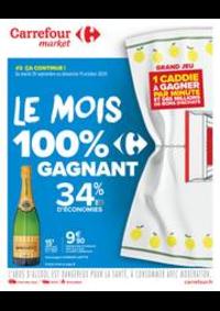 Prospectus Carrefour Market Paris Saint Ouen : Le mois 100% gagnant