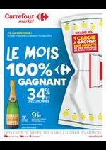 Prospectus Carrefour Market : Le mois 100% gagnant