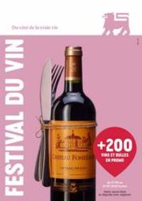 Prospectus Supermarché Delhaize Sint-Truiden : Festival Du Vin