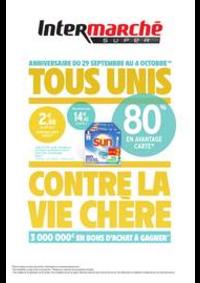 Promos et remises Intermarché Super St Doulchard : TOUS UNIS CONTRE LA VIE CHÈRE