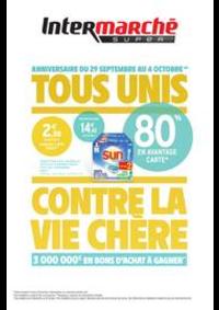 Prospectus Intermarché Super Nanterre : TOUS UNIS CONTRE LA VIE CHÈRE