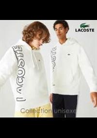 Prospectus Lacoste Paris 36 Avenue des ternes : Collection unisexe