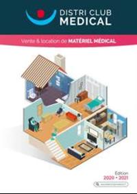 Prospectus Distri Club Médical Saint-Denis : Vente & location de matériel médical