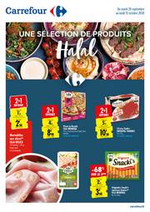 Prospectus Carrefour : Une selection de produits Halal