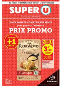 Prospectus Super U MONTREUIL - R. NOUV. FRANCE : Catalogue Super U