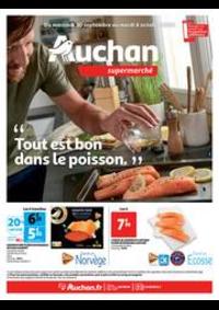 Prospectus Auchan Supermarché Paris 12 Reuilly : Tout est bon dans le poisson !