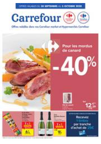 Promos et remises Carrefour JAMBES : folder Carrefour