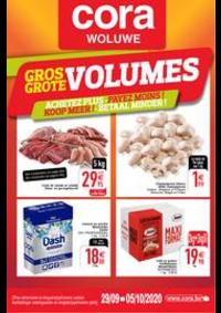 Prospectus Cora WOLUWE : Les Gros volumes au 29-09