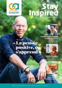Journaux et magazines Colruyt GEMBLOUX : Stay Inspired