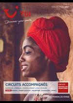 Prospectus TUI : Circuits Accompagnés Collection 2021
