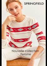 Catalogues et collections Springfield : Nouvelle collection Femme