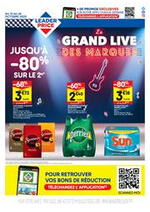 Promos et remises Leader Price : Le grand live des marques