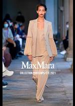 Catalogues et collections Max Mara : Collection PrintempsÉté 2021