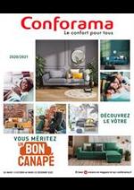 Prospectus Conforama : Guide Siègues et Déco 2020-2021