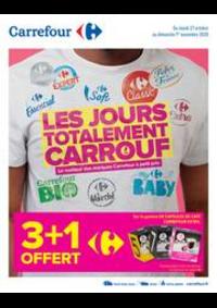 Promos et remises Carrefour AUBERVILLIERS : LES JOURS TOTALEMENT CARROUF