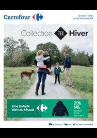 Prospectus Carrefour CHARENTON LE PONT : Collection HIVER