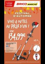 Prospectus Bricomarché : Festival d'Automne