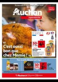 Prospectus Auchan MAUREPAS : C'est aussi bon que chez mamie !